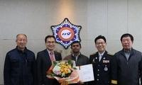 改变命运!外籍黑工冲火场救人被烧伤 获韩国绿卡