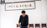 兴隆农民画家用专属画笔 迎首个中国农民丰收节