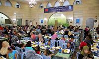 """驻约旦使馆与""""阿里之母""""慈善组织合作举办慈善开斋活动"""