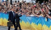 泽连斯基宣誓就职乌克兰新一届总统