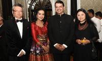 驻孟买总领事郑曦原出席印度独立日晚宴