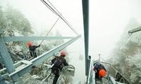 战低温冰冻 保旅游安全