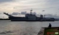 美国1艘近9千吨战舰被击沉 日自卫队立功