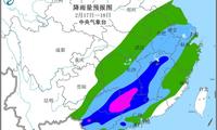 2月17日至18日江南华南将有较强降雨过程 湖南江西广西广东等地有暴雨或大暴雨