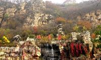 遇见北京深秋 坡峰岭最后的红叶