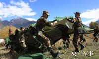 武警西藏总队紧急投入雅鲁藏布江堰塞湖抢险救援行动