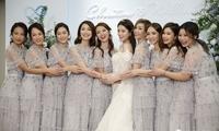 """苟姑娘嫁到,史上最强姊妹团仙气四溢,""""9姊妹""""陪出阁!"""