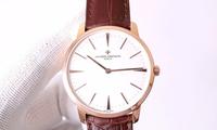 江诗丹顿传承系列2针机械腕表,喜欢它的超薄!
