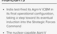 """印媒为导弹试射欢呼:打击中国全境""""不在话下""""?"""