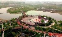 河北灵寿:万人广场舞大赛喜迎旅发盛会