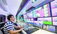 全球首台5G+8K超高清视频全业务转播车启动
