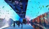 """【伟大的变革――庆祝改革开放40周年大型展览之二十八】""""大美中国""""影像长廊"""