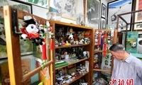 """""""草根""""收藏家李智启和他的熊猫文化艺术馆"""