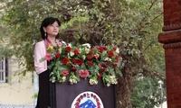 于红大使出席阿尼哥雕像揭幕仪式并致辞