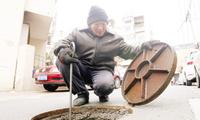 老旧小区排水管道改造 不断优化居民出行环境