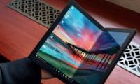 联想展示折叠屏电脑:研发四年投入数千万美元