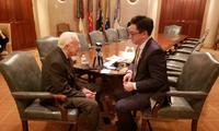美国前总统卡特独家专访:地球上最重要的双边关系是美中关系,必须被保护好!