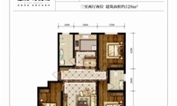 涿州99-139.9平惠友万悦城最新户型图