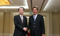 熊波大使向洪森首相辞行