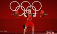 石智勇打破世界纪录 实现奥运两连冠