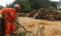 麻栗坡洪水泥石流灾害救援:消防搜救转移28人