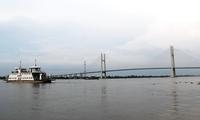 中企在越南承建的首座斜拉桥通车