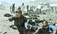 喀布尔一军事基地遇袭致4名士兵死亡