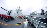 西安舰奔赴东海海域战备巡逻实战化训练