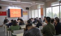 创意设计学院召开10月份班主任工作会议暨班级管理培训会