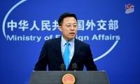 特朗普连发推特指责中国发言人 赵立坚回应