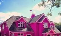 英国夫妇共建粉色主题房,设施齐全价格昂贵,吸引到了很多名人