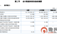 山东通航上半年实现营收6175万元 净利暴跌近870%