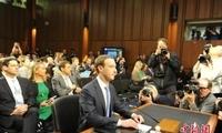 扎克伯格现身欧洲议会 就脸书数据外泄丑闻道歉
