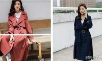 初秋时节,女生穿风衣也能美成这样!