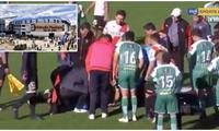 玻利维亚足球主裁赛中突发心脏病,送院后不治身亡