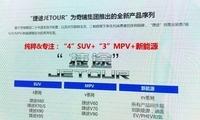 首款车4月发布 捷途公布未来产品规划