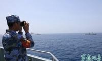 中阿海军举行海上联合演习