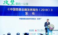 """《中国普惠金融发展报告(2018)》发布 变""""最后一公里""""为""""第一公里"""""""