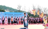 徐州云龙湖打造文化景区 品味十里杏花香