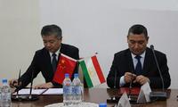 驻塔吉克斯坦大使岳斌出席中塔政府间经贸合作委员会第十次会议