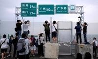 英媒:港珠澳大桥23日举行开通仪式 24日正式通车