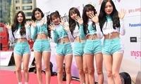 组图:韩国K-模特颁奖礼 brave girls等女星出席