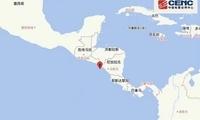 尼加拉瓜沿岸近海发生6.4级地震 震源深度50千米